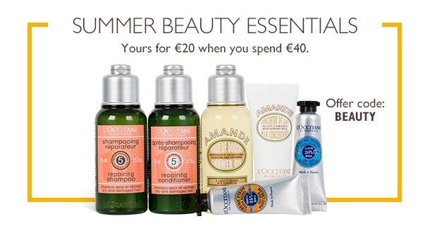 L'Occitane Summer Beauty Essentials