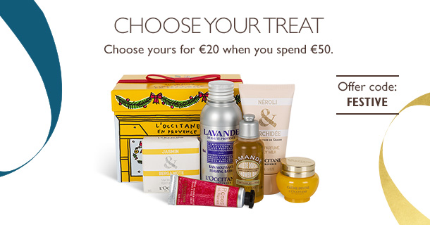 L'Occitane Choose your treat