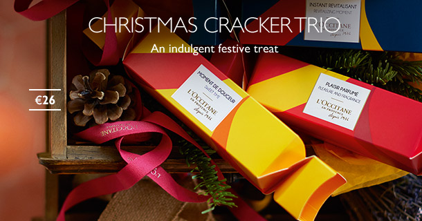 L'Occitane Christmas Crackers