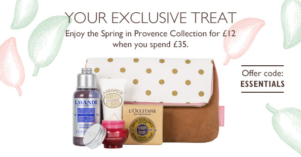 L'Occitane Spring in Provence Collection