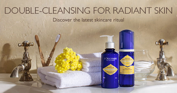 L'Occitane Double Cleansing